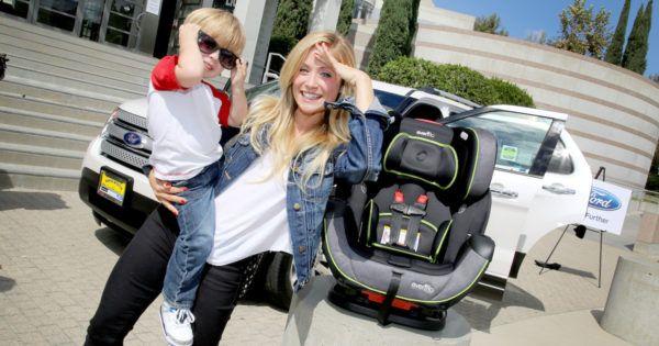 evenflo SensorSafe Car Seat